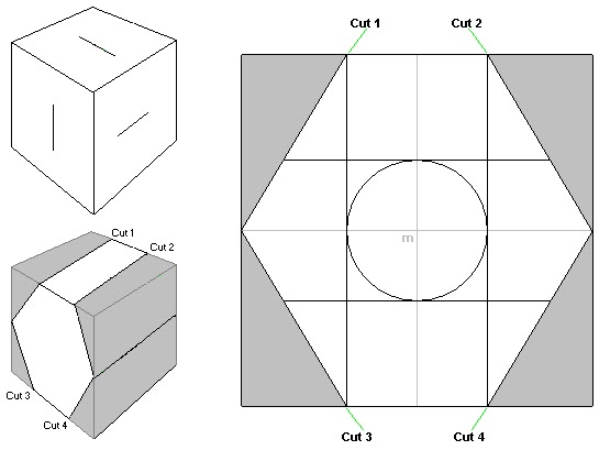 how to draw a dodecahedron