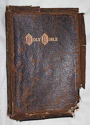 Bible leather cover png