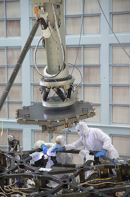 JWST Prepare for Mirror